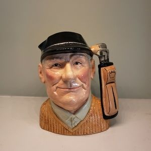 Royal Doulton Golfer Character Mug David Biggs